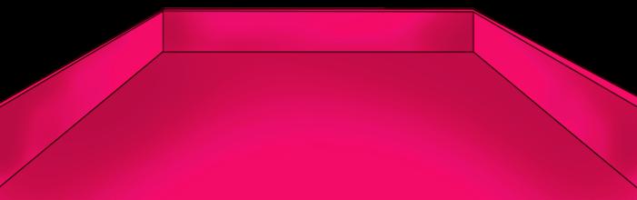 St. Valentinstag rosa Tablett