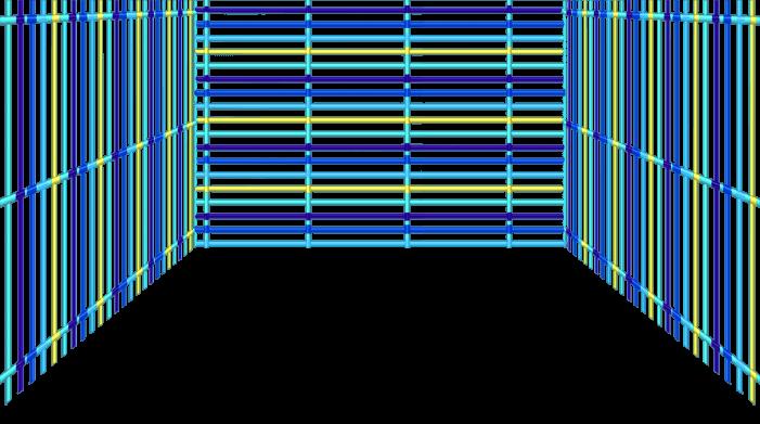 Blaues Gitter