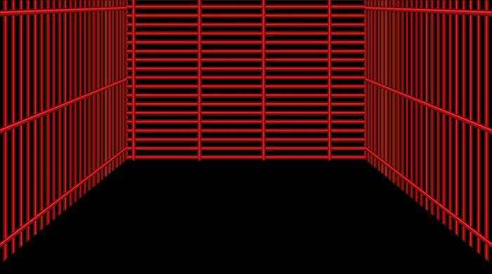 Rote Valentinstag-Gitter