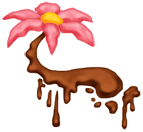 Schwimmende Blume