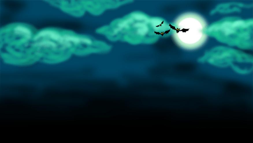 Halloween Himmel