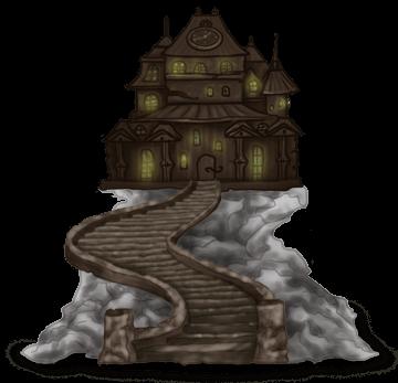 Altes Halloween Herrenhaus