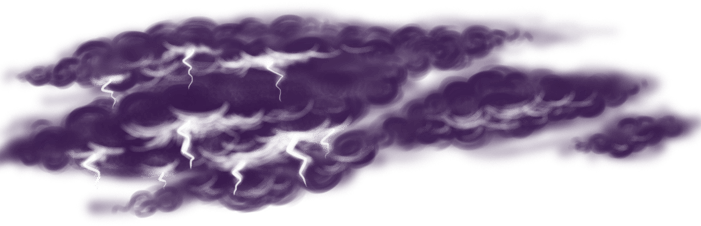 Wikinger bewölkten Himmel
