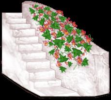 Griechenland Treppenhausblock