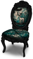 Dark Castle Chair