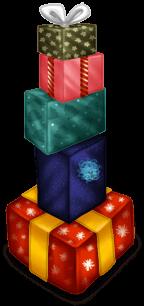 Stapel von Geschenken