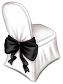 Hochzeitsempfang Stuhl