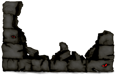 Halloween Backsteinmauer