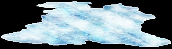 Gefrorener See-Skater