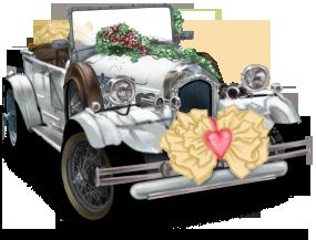Verheiratetes Auto