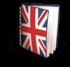 Englisches Notizbuch
