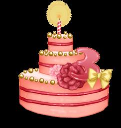 3 Jahre Kuchen