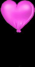 Ballon Valentinstag
