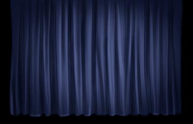 Künstler Hintergrund Vorhang