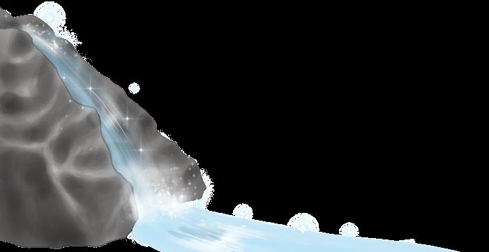 Elf Wasserfall
