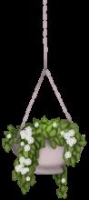 Hängender Blumentopf