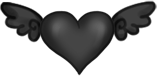 Fliegendes Herz