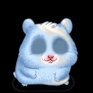 Hamster Bleu Pastel