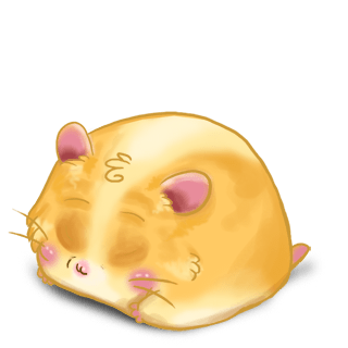 Adoptiere einen Hamster Blond