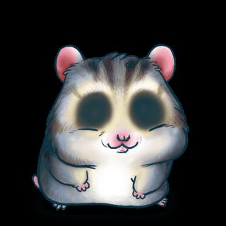 Adoptiere einen Hamster Blaues Grau