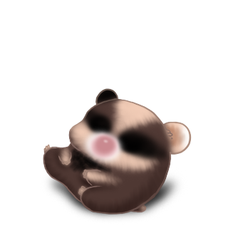 Adoptiere einen Hamster Pfirsich