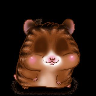 Adoptiere einen Hamster Braun gestreift
