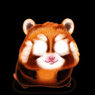 Adoptiere einen Hamster Roter Panda