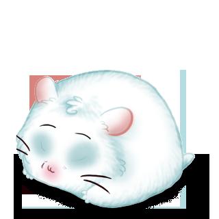 Adoptiere einen Hamster Schnee