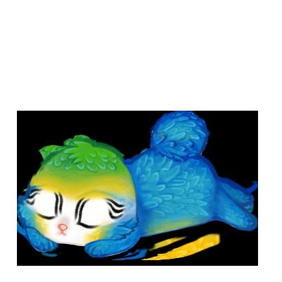 Adoptiere einen Kaninchen Blauer Ara