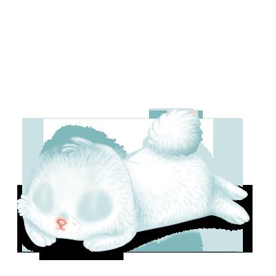 Adoptiere einen Kaninchen Creme