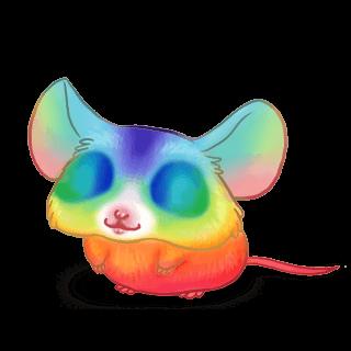 Adoptiere einen Maus Regenbogen
