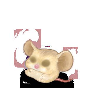 Adoptiere einen Maus Beige Brown
