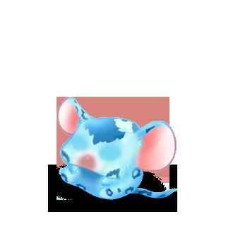 Adoptiere einen Maus Leopardenblau