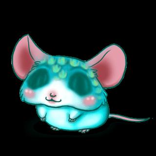 Adoptiere einen Maus Fischschuppen