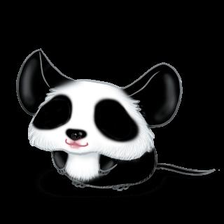 Adoptiere einen Maus Panda