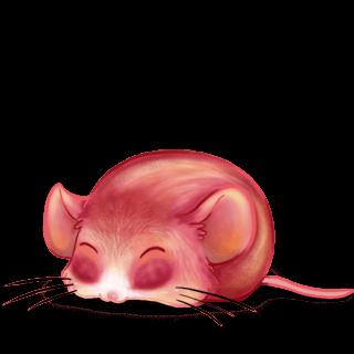 Adoptiere einen Maus Pfirsich