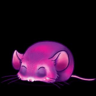 Adoptiere einen Maus Pinklila