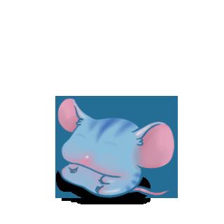 Adoptiere einen Maus Blauer Tiger