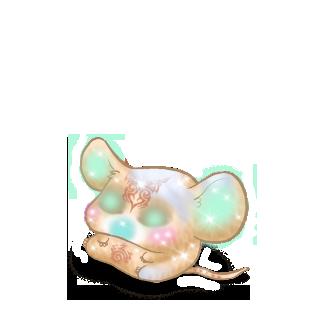 Adoptiere einen Maus Albino-Creme