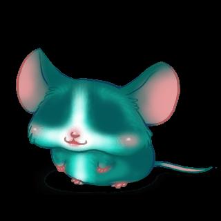 Adoptiere einen Maus Türkis