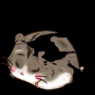 Adoptiere einen Hamster Milchschokolade