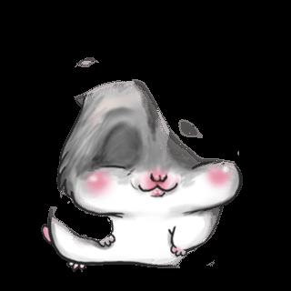 Adoptiere einen Hamster Foustache