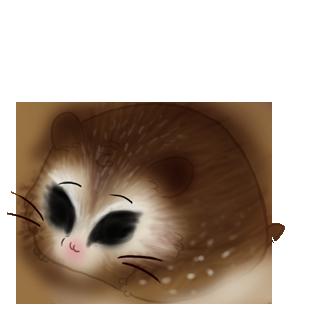 Adoptiere einen Hamster Blauer Ara
