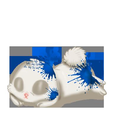 Adoptiere einen Kaninchen Tinte