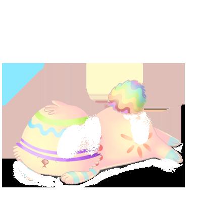Adoptiere einen Kaninchen Pastellblau