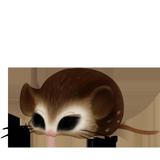 Adoptiere einen Maus Creme